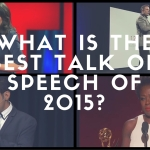What is the best speech or talk of the year 2015?