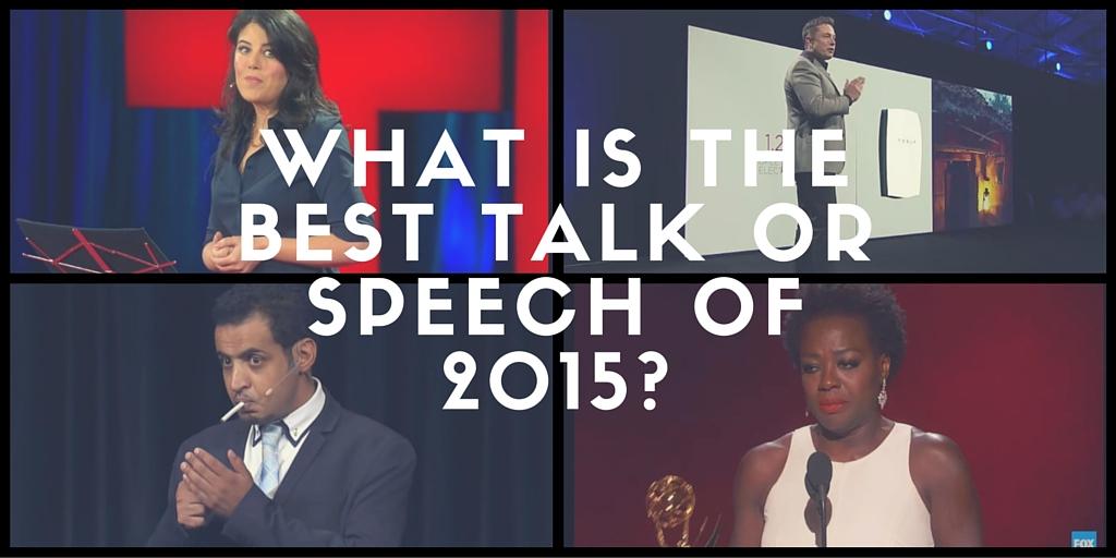 best talk 2015