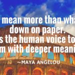 6 Great Quotes About the Power of Your Voice