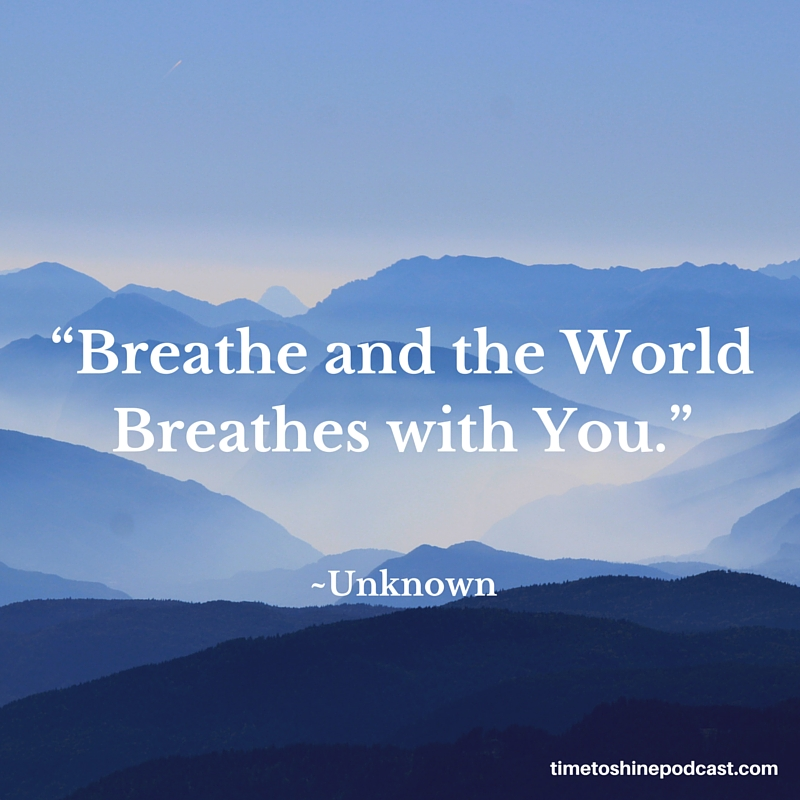 breathe voice quote