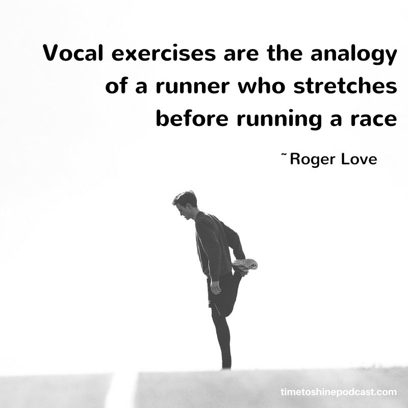 Roger Love voice quote online course