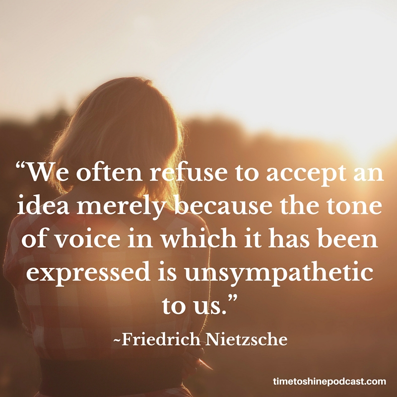 6 Great Quotes About The Power Of Your Voice Time To Shine Podcast