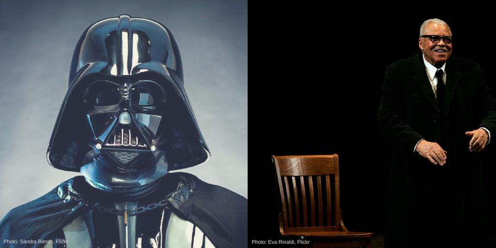Darth Vader voice audition James Earl Jones
