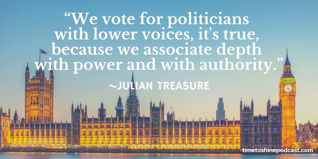 Julian Treasure voice quote